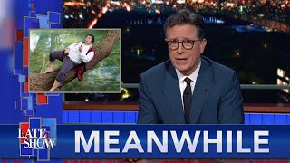 """Meanwhile... Is This Man A Bigger """"Lord of the Rings"""" Fan Than Stephen Colbert?"""