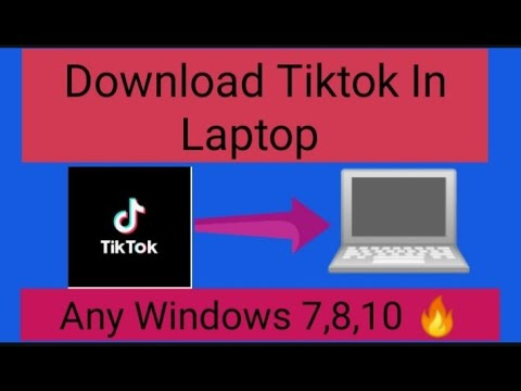 How to download tiktok in laptop / PC in any windows(7,8,10)........very simple (in  3 minutes)