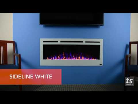 Touchstone Sideline 50 Electric Fireplace Finishes