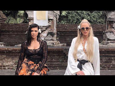 Khloe Wants to 'Slap' Sister Kourtney Kardashian While on Vacation: Watch!