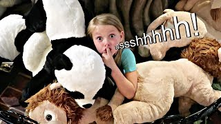 Best Hide And Seek Spot At An Amusement Park!
