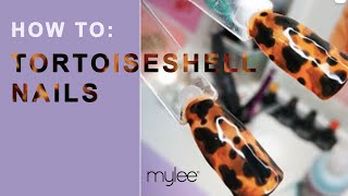 How To Create Tortoiseshell Gel Nail Designs