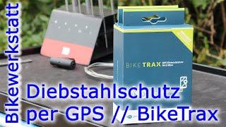 eBike Diebstahlschutz per GPS mit dem BikeTrax