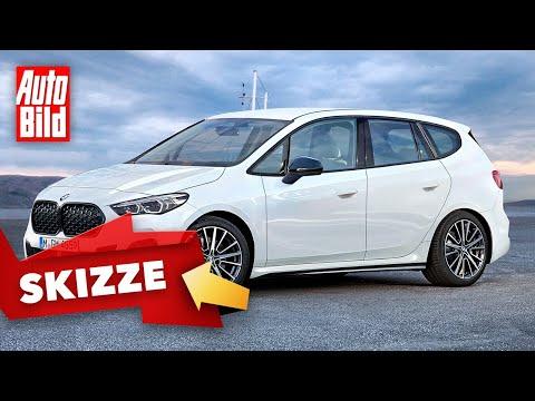 BMW 2er Active Tourer (2021): Skizze - Van - Motor - Preis - Info