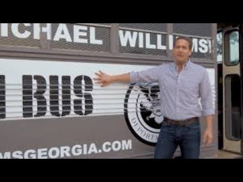 Download GOP Candidate Launches Deportation Bus Tour HD Video