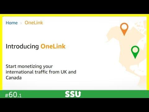 AMAZON ONELINK = International Amazon Affiliate Links!