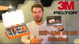 3M Peltor EEP-100 EU OR Hunting (orange) - aktive Gehörschutzstöpsel für den Jagd- und Schießsport