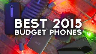 Top 5 Budget Smartphones of 2015!