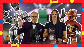 Overwatch Voice Talent React to LEGO Overwatch Sets | Interview with Matt Mercer & Darin De Paul