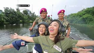 Download Video Sarah Sechan Takjub Dengan Situasi di Dalam Tank Amphibi MP3 3GP MP4