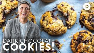 How to make the PERFECT Dark Chocolate Hazelnut Cookies!