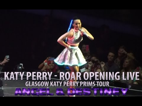 Katy Perry The Prismatic World Tour - Roar *FULL SONG HD & Opening Glasgow SSE Hydro 2014
