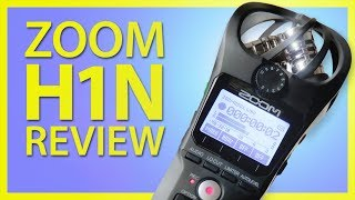 Zoom H1n Review for Filmmakers - Impressive Sound Effects Recorder