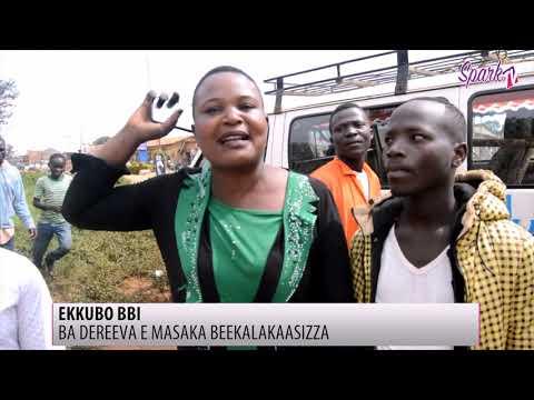 Abagoba ba takisi n' aba bodaboda e Masaka beekalakasiza olw' ekkubo bbi