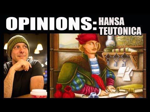 Finbar's Opinions: Hansa Teutonica