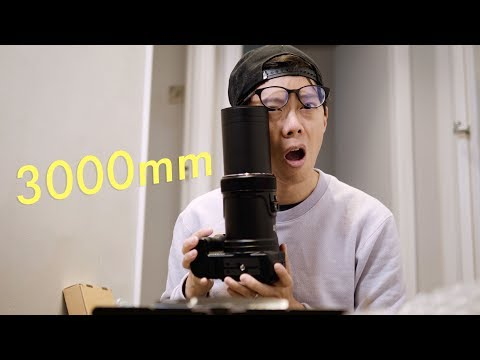Crazy 24-3000mm Zoom Lens!