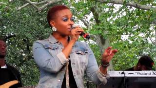 Chrisette Michele, If I Have My Way, Central Park Summerstage, NYC 8-21-10