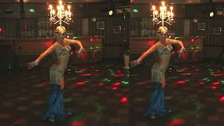 Танец живота с горящими свечами Belly dance with burning candles