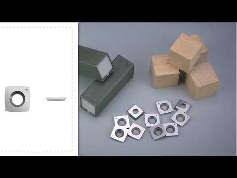 FindBuyTool Carbide Woodturning Insert Cutter 15 x 15 x 2.5mm-30°-R50-4R0.5 Square Radius Shape