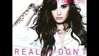 Demi Lovato ft Cher Lloyd - Really Don't Care (Audio) (HQ)