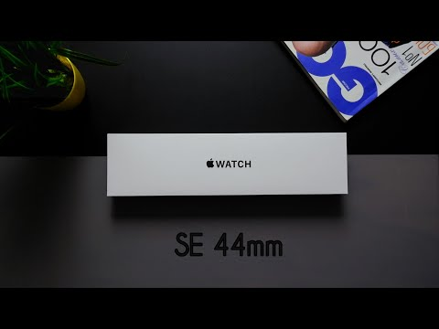 Просто РАСПАКОВА APPLE WATCH SE 44mm space gray