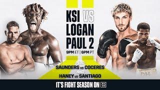 IT'S FIGHT WEEK | KSI vs. Logan Paul 2 (Ft. Billy Joe Saunders & Devin Haney)
