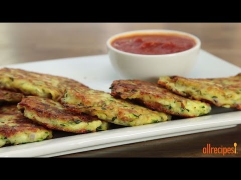 How to Make Zucchini Patties | Zucchini Recipes | Allrecipes.com