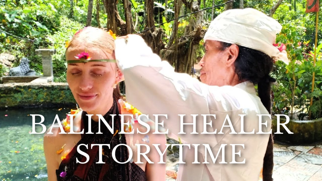 BALINESE HEALER PULLED AN EVIL SPIRIT OUT OF ME!?  🤯 👻   Mystical Storytime