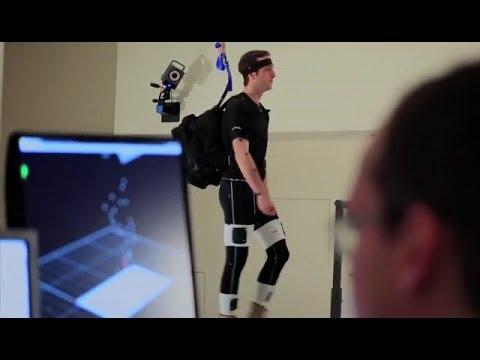 Un exoesqueleto- pantalón para caminar más rápido