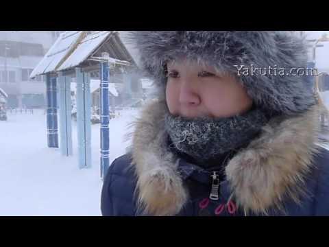 Холод Мороз минус 50 Якутия Якутск реакция мороза