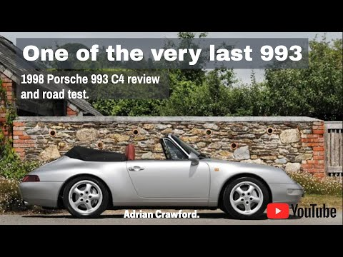 The last of the last, introducing the 1998 Porsche 993 Carrera 4 cabriolet at Williams Crawford.