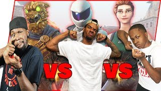 Brothers Face Off For The Fortnite CONSOLE Crown! - Fortnite Gameplay