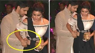 Sidharth Malhotra SAVES Parineeti Chopra From Embarrassing Moment At Akash Ambani