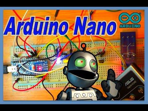 Arduino Nano v3.0  первый ПРОБНЫЙ проект  ))