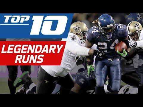 Top 10 Legendary Runs | NFL Films