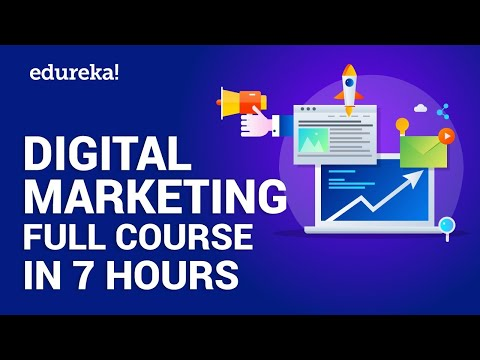 Digital Marketing Course in 7 Hours | Digital Marketing Tutorial for ...