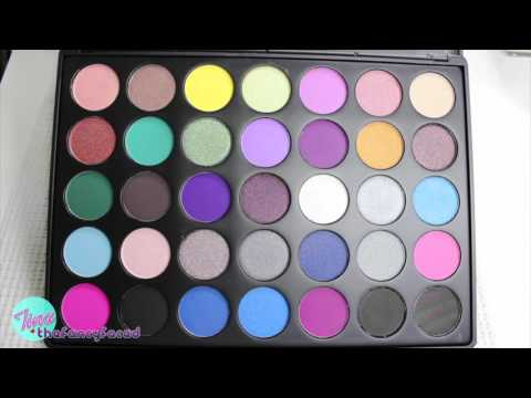 Dope Taupe Artistry Palette 35t By Morphe