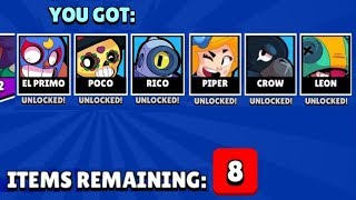 4 NEW BRAWLERS IN ONE MEGA BOX, HOW IS IT POSSIBLE?!