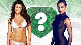 WHO'S RICHER? - Kourtney Kardashian or Alicia Keys? - Net Worth Revealed!