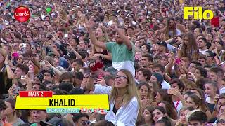Khalid   Young Dumb & Broke (Live At Lollapalooza Argentina 2018)