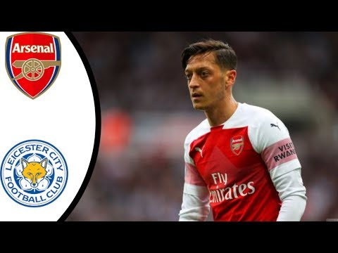 Arsenal VS Leicester City 3-1 - All goals & highlights - 2018 -Premier leauge.