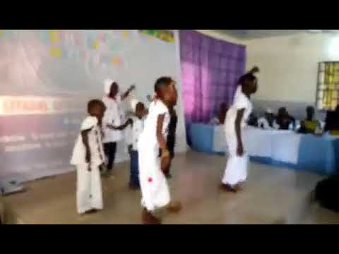 Hausa fulani dance performance