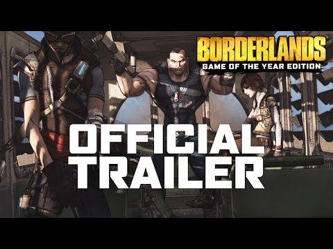 Official Trailer de Borderlands: Édition Game of the Year