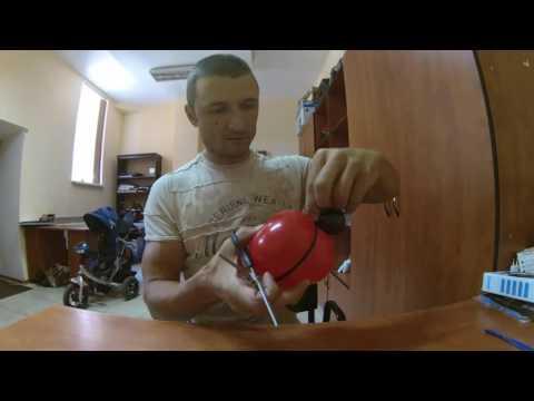 Пчёлка, божья коровка - браслеты на ручку из воздушных шаров/bracelets on the handle of balloons