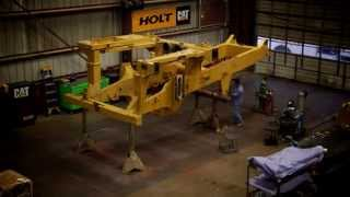 HOLT CAT 777D Rebuild Time-lapse