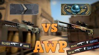 Silver vs Global ★ AWP