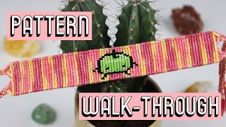 JUNIMO ALPHA PATTERN WALK-THROUGH || Friendship Bracelets