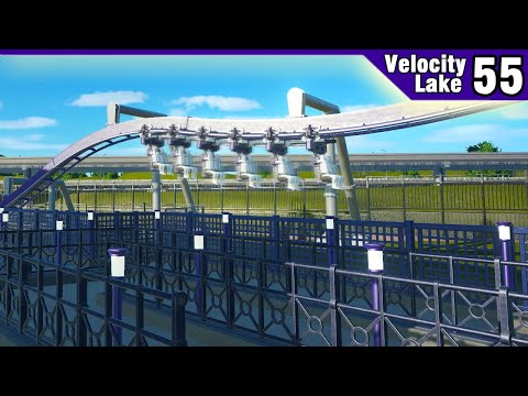 Velocity Lake (ep. 55) -  Working on the Invert's Queue   Planet Coaster
