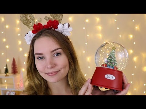 ASMR Christmas Triggers To Help You Sleep ♥