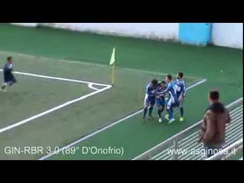 """Preview video GINOSA-REAL P. BRINDISI 3-0 Sfatato con una schiacciante vittoria il tabù del """"T.Miani"""""""